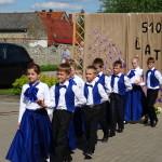 """""""POLONEZ"""" w wykonaniu dzieci ze Szkoły Podstawowej w Sątopach"""